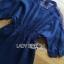 Lady Ribbon Korea Dress LR10060616 &#x1F380 Lady Ribbon's Made &#x1F380 Lady Natalie Minimal Chic Crystal Embroidered Organza and Denim Cotton Shirt Dress thumbnail 5