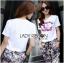 Lady Ribbon's Made &#x1F380 Chanel Vivid Floral Printed T-Shirt and Floral Printed Slouchy Pants Korea Set thumbnail 6