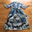 Lady Ribbon Korea LR08260516 &#x1F380 Lady Ribbon's Made &#x1F380 Lady Danielle Feminine Elegant Floral Printed Polyester Dress thumbnail 7