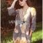 &#x1F380 Lady Ribbon's Made &#x1F380 Lady Chiara Casual Boho Chic Printed Viscose Dress เ thumbnail 1