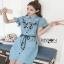 Lady Ribbon Shirt Dress thumbnail 1