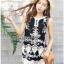 Lady Ribbon Korea เสื้อผ้าเกาหลี ของแท้พร้อมส่ง Lady Ribbon LR19250716 &#x1F380 Lady Ribbon's Made &#x1F380 Lady Mandy Modern Hippie Embroidered Lace and Cotton thumbnail 2