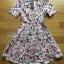 Lady Ribbon Korea Closet Jumpsuit LR13230616 &#x1F380Lady Ribbon's Made &#x1F380Lady Lana Flower Print A-Line Dress เ thumbnail 4
