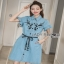 Lady Ribbon Shirt Dress thumbnail 4