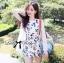 Lady Ribbon Dress LR19120516 &#x1F380Lady Ribbon's Made&#x1F380Lady Delphine Sweet Wild Rose Jumpsuit By Lady Ribbon Dress thumbnail 4