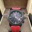 Burberry Sport Chronograph Black Dial Red Rubber Men's Watch BU7706 thumbnail 2