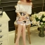 Lady Ribbon Korea Brand SS16300516 Seoul Secret Say's .... Sweety Color Butterfly Playsuit thumbnail 5