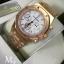 Audemars Piguet Royal Oak Chronograph - Gold with White Dial thumbnail 4