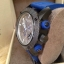 New Burberry Sport Chronograph Grey Dial Blue Rubber Men's Watch BU7706 thumbnail 3