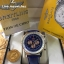 Breitling Navitimer 01 - Blue Dial Rose Gold Leather Strap thumbnail 1