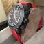 Burberry Sport Chronograph Black Dial Red Rubber Men's Watch BU7706 thumbnail 3