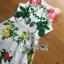 Lady Ribbon Korea's Made &#x1F380 Lady Rosie English Roses Printed White Sleeveless Dress thumbnail 8