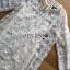 Lady Ribbon Korea LR07260516 &#x1F380 Lady Ribbon's Made &#x1F380 Lady Camilla Classic Feminine off- whiteLace Dress with Ribbon thumbnail 5