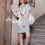 Closet Seoul Secret Say's... Pastel Vintage Tiggy Softly Denim Dress thumbnail 3
