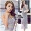 Lady Ribbon&#x1F380 Lady Ribbon's Made &#x1F380 Self-Portrait Arabella Midi Dress in Smoked Lilac thumbnail 2