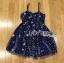 Lady Ribbon Korea Dress &#x1F380 Lady Ribbon's Made &#x1F380 Lady Gabriella Glittery Stars Tulle Mini Dress มินิเดรส thumbnail 6
