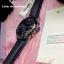 Emporio Armani Oversize Gents Chronograph Watch, Black Dial, Black Leather Strap thumbnail 4