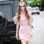 Korea Design By brand cliona Lavida elegant pastel pink lace diva skirt set code728 thumbnail 1