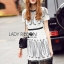 Lady Ribbon Dress LR08120516 &#x1F380 Lady Ribbon's Made &#x1F380 Lady Courtney Urban Bohemian Embroidered Chiffon Fringed Dress thumbnail 4