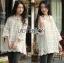 Lady Ribbon Korea LR07260516 &#x1F380 Lady Ribbon's Made &#x1F380 Lady Camilla Classic Feminine off- whiteLace Dress with Ribbon thumbnail 4