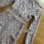 เดรสผ้าลูกไม้ทอลายดอกไม้สีเบจ thumbnail 5