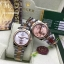 Rolex Datejust Automatic Silver and Rose Gold Flora Edition thumbnail 2