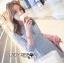&#x1F380Lady Ribbon's Made &#x1F380Lady Ariana Sweet Feminine French Lace Dress in Light Blue thumbnail 3