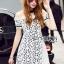 Lady Ribbon Korea Dress &#x1F380 Lady Ribbon's Made &#x1F380 Lady Katie Elegant Feminine Organza and Lace Mini Dress thumbnail 2
