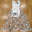 Lady Ribbon Korea LB05160516 &#x1F380 Lady Ribbon's Made &#x1F380 Lady Blaire Fairy Tale Butterfly Embroidered Organza Maxi Dress เดรสแขนกุด thumbnail 5