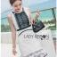 Black & White Lace Lady Ribbon Mini Dress thumbnail 5