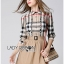 Lady Ribbon's Made &#x1F380 Burberry Signature Plaid Camel Shirt Dress เชิ้ตเดรส thumbnail 5