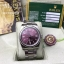 Rolex Oyster Perpetual Purple Dial Stick Hour thumbnail 2