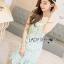 Lady Ribbon Korea Dress LR 07060616 &#x1F380 Lady Ribbon's Made &#x1F380 Lady Aerin Feminine Pastel Ruffled Lace Mini Dress thumbnail 3