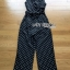 Black and White Lady Polkadot Jumpsuit thumbnail 8