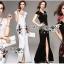 Lady Ribbon Korea Maxi Dress Korea LR10300616 &#x1F380 Lady Ribbon's Made &#x1F380 Lady Anne Maxi Elegant Floral Embroidered Polyester Dress thumbnail 1
