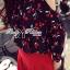 Lady Ribbon's Made &#x1F380 Lady Rosie Casual Polka Dot and Flower Printed Cotton Satin Ensemble Set เ thumbnail 5