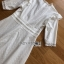 Lady Clemence Ruffle Embroidered White Cotton Dress thumbnail 2