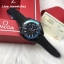 Omega Seamaster Planet Ocean 600M GMT Deep Black Collection/Blue Edition thumbnail 1