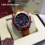 OMEGA Seamaster 007 Quantum of Solace Chronograph - Orange Leather Strap thumbnail 5
