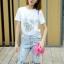 Lady Ribbon Korea Closet SB 07300516 Sweet Bunny Present... Rabbit Jeans Set thumbnail 2