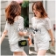 Lady Ribbon Dress Lady Ribbon Korea LR21190516 &#x1F380 Lady Ribbon's Made &#x1F380 Lady Paule Mini Flower Embroidered Organza and Chiffon White Set thumbnail 2