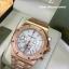Audemars Piguet Royal Oak Chronograph - Gold with White Dial thumbnail 2