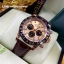 Rolex Cosmograph Daytona - Gold Dial Brown Bezel and Leather Strap thumbnail 1