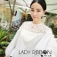 Lady Ribbon's Made &#x1F380 Lady Hive See-through Top Mini dress มินิเดรสแขนยาว thumbnail 5