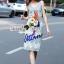 Lady Ribbon Korea Brand SS19300516 Seoul Secret Say's .... Parroty Lace Lace Cami Dress thumbnail 5