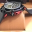 Hublot Techframe Ferrari Tourbillon Chronograph Watch Celebrating Ferrari's 70th Anniversary - Black Kevla thumbnail 4