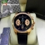 TAG HEUER Grand Carrera 17RS Caliper Chrono - Pink Gold and Black Leather Strap thumbnail 1