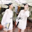 Lady Ribbon's Made &#x1F380 Lady Hive See-through Top Mini dress มินิเดรสแขนยาว thumbnail 3