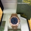 Audemars Piguet Royal Oak Chronograph - Gold with Blue Dial thumbnail 1