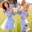 Lady Ribbon Korea Dress ace Silk Dress เดรส thumbnail 1